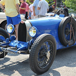 Bugatti Antique Cars at Port Jefferson Hill Climb