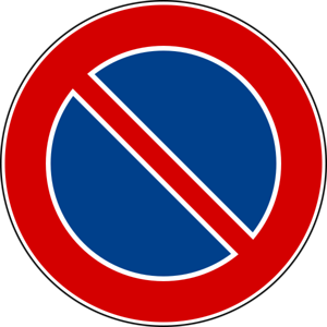 Italian No Parking Sign