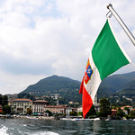 Looking at Como from a boat ride