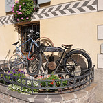 Motorcycle at Bormio Hotel