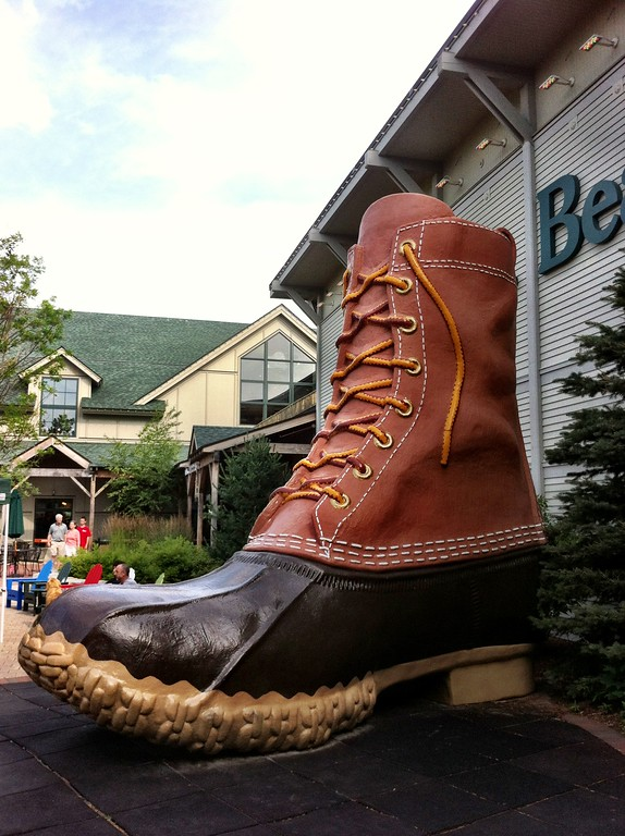 Giant Bean Boot - LL Bean Maine