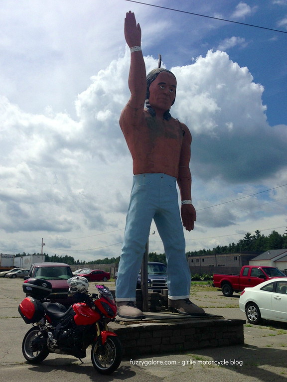 muffler man indian mohawk motors shirley massachusetts