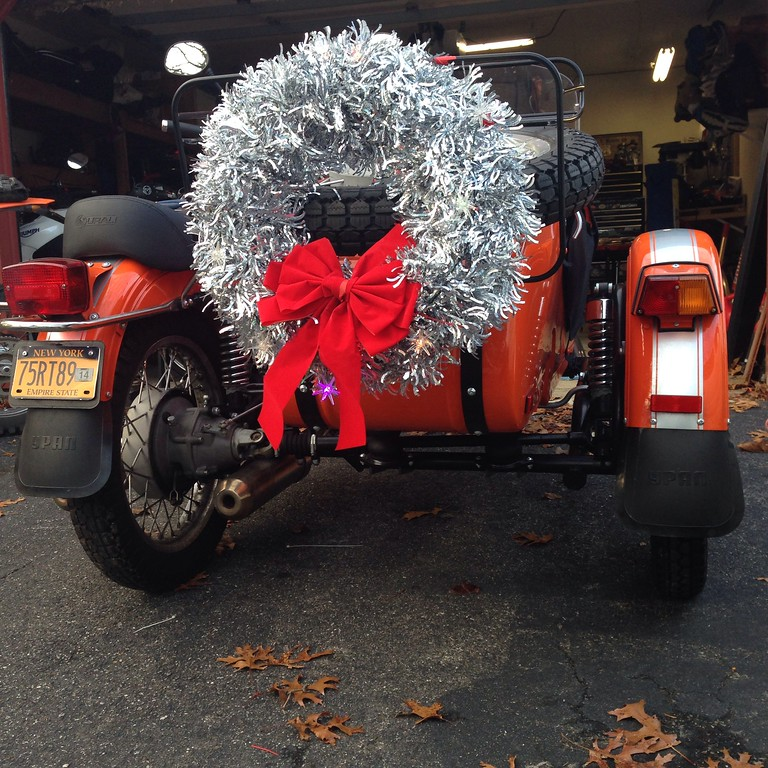 the ural christmas wreath