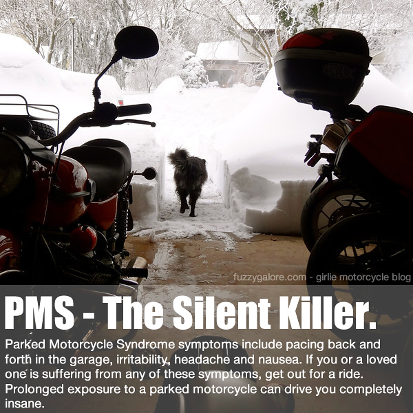 PMS - Parked Motorcycle Syndrome