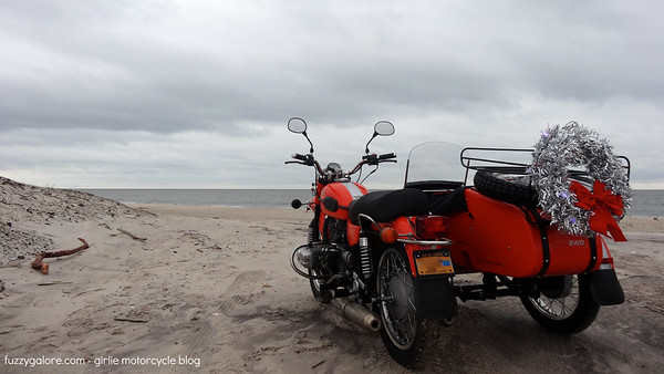 ural at the beach