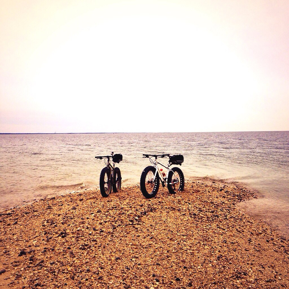 fatbike love on the beach