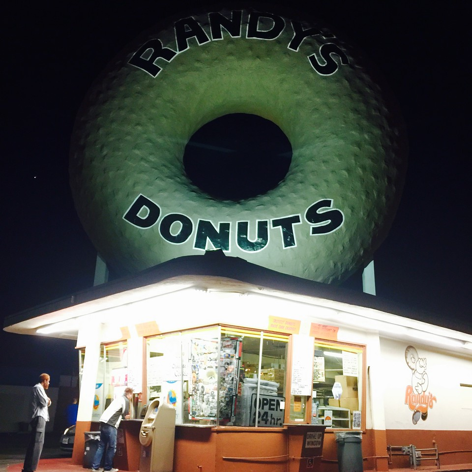 fuzzygalore at randys donuts
