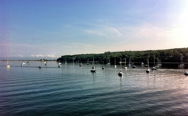 View from the Port Jefferson Ferry