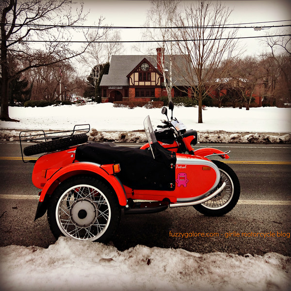 The Ural makes the winter better