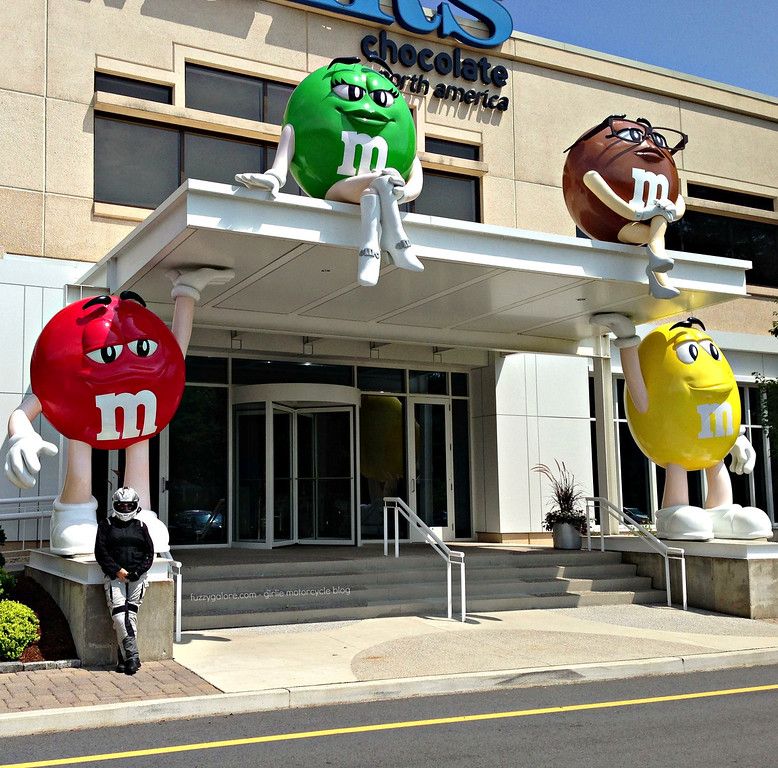 Giant M&Ms in Hackettstown New Jersey