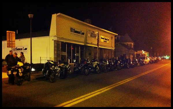 Bikes Parked Crotona Midnight Run