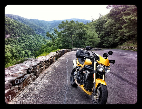 The Goshen Gap overlook