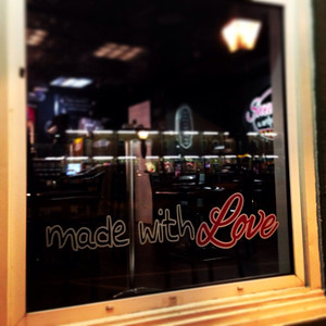 made with love sign - port jefferson