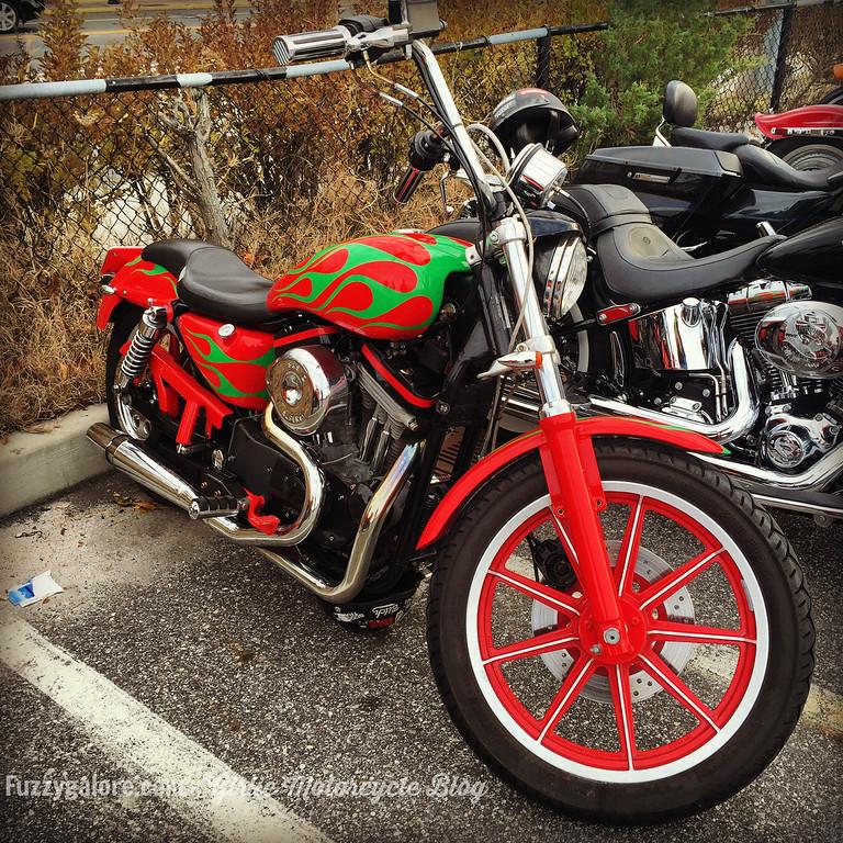fuzzygalore santas motorcycle