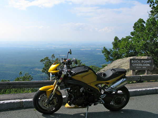 Rock Point Overlook Blue Ride Parkway