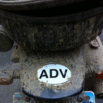 Muddy ADV sticker