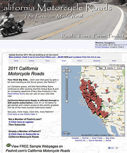 Pashnit.com - California Motorcycle Roads