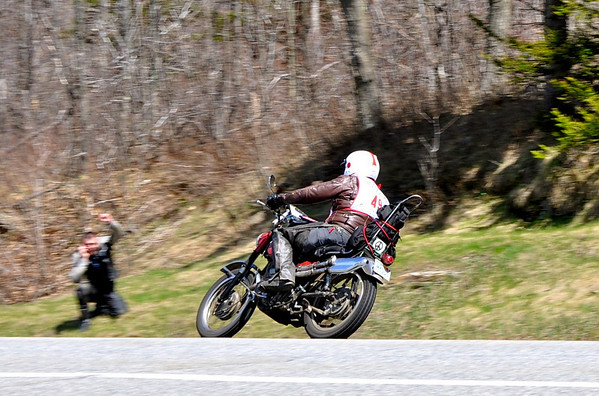 Bob on Honda Scrambler - MotoGiro East