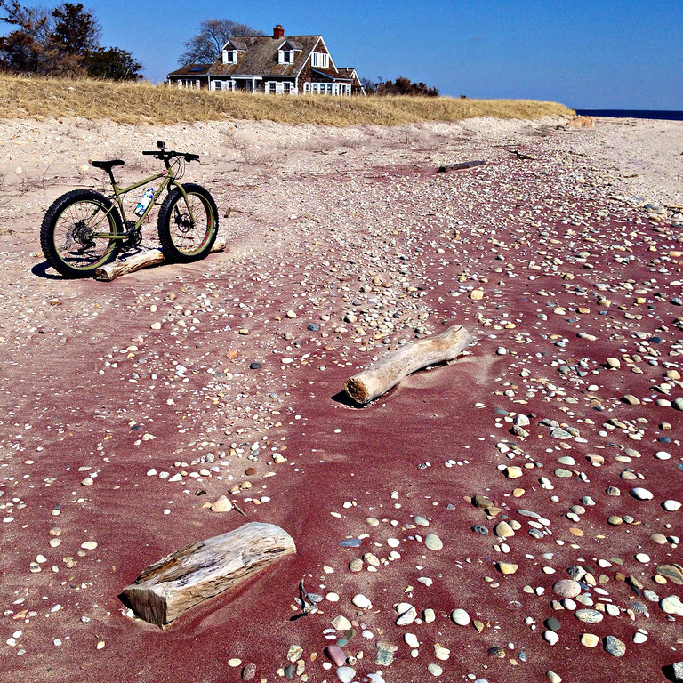 fatbike red sand at orient