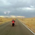 Lightning on route 58