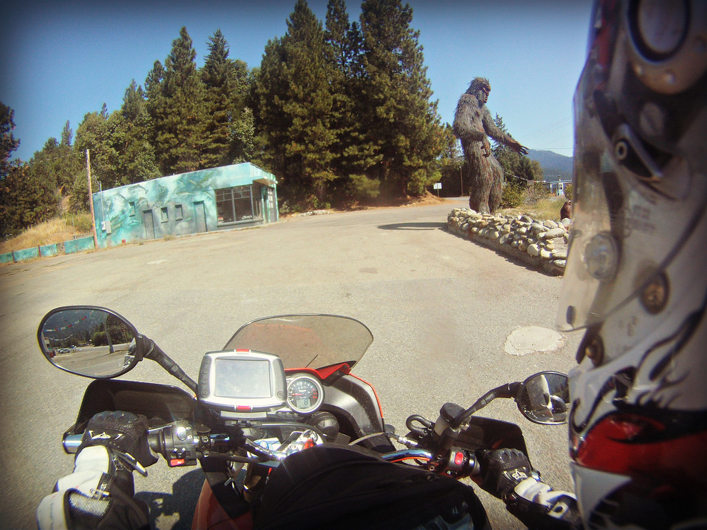 bigfoot statue in happy camp ca