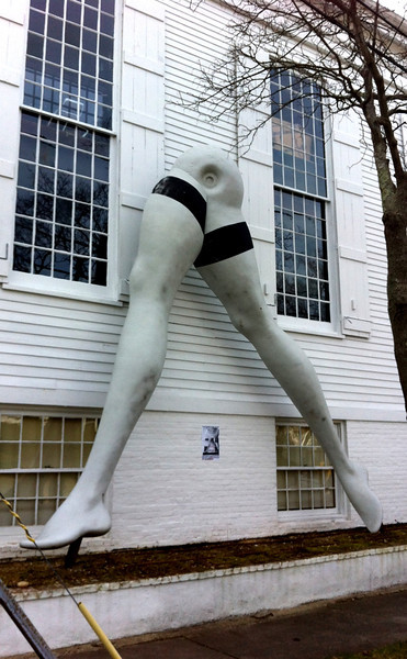 Larry Rivers Giant Legs Sag Harbor