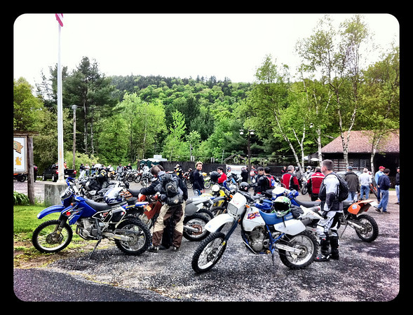 The bikes at Tuckers
