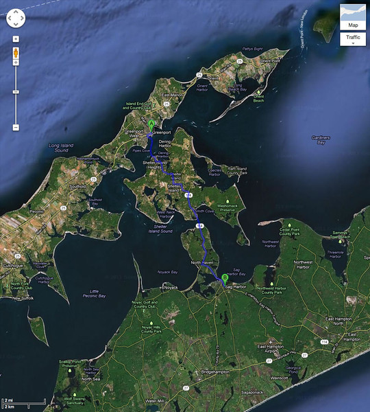 the forks of Long Island
