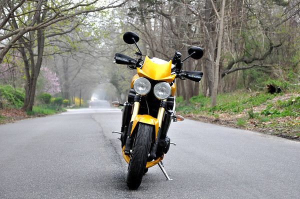 2005 Speed Triple Long Lonely Road