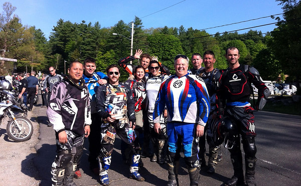 The gang at the Berkshire Ride 2012