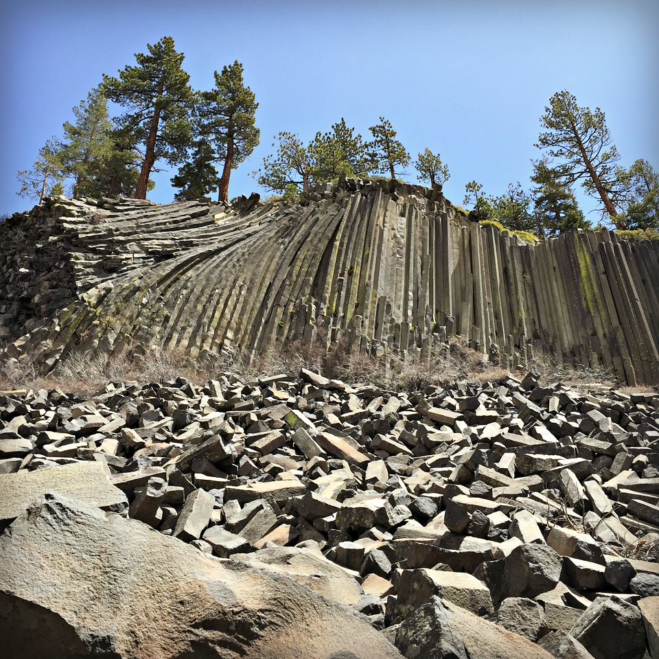 visiting the devils postpile
