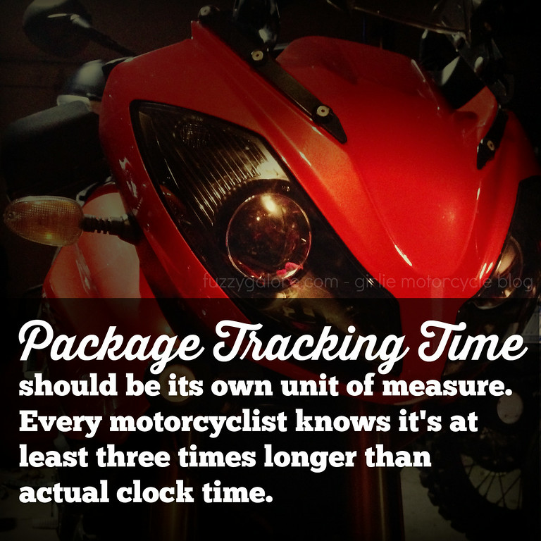 package tracking time - the wait is agony