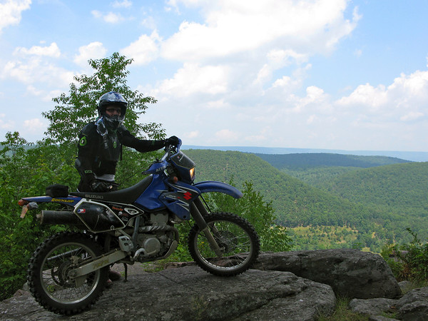 GL and his DRZ - AltRider Giant Loop Adventure Ride PA