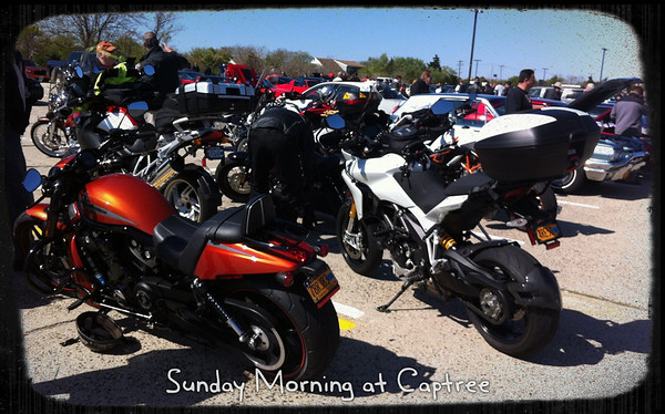 Captree Bikes on Sunday Morning