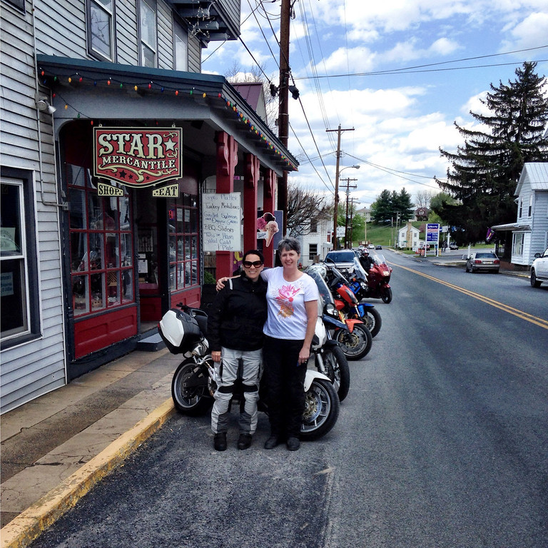 me and kathy at star mercantile