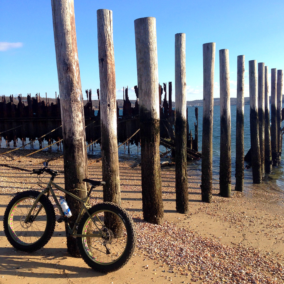 fatbike long island pirates cove
