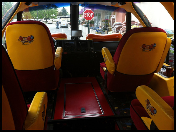 Inside the Wienermobile