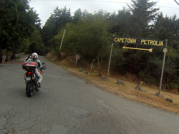 Heading up Mattole Rd in Ferndale