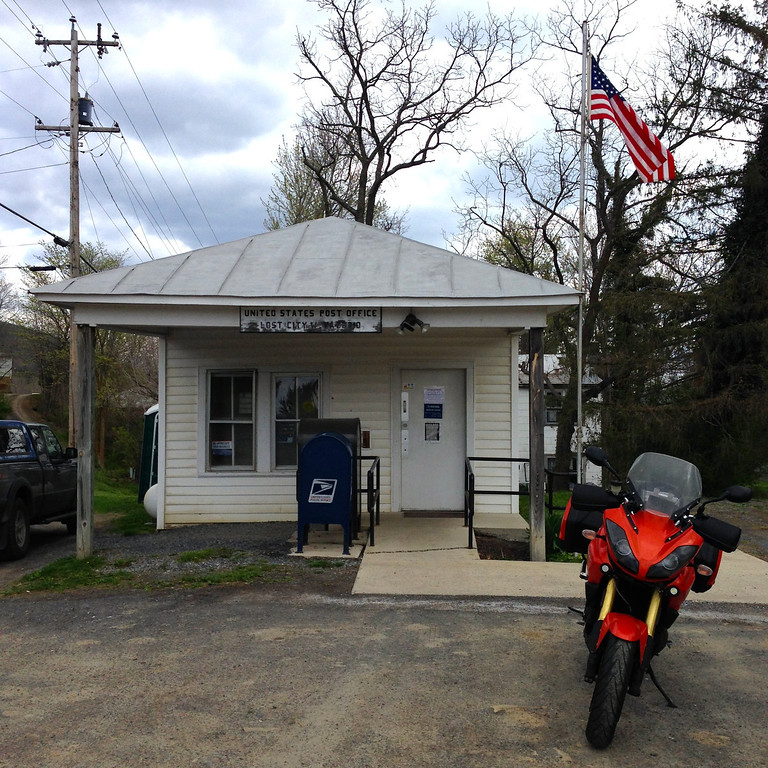 lost city post office