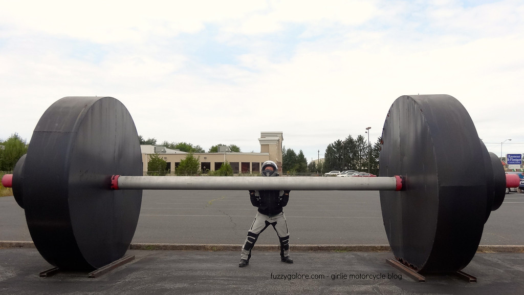 giant barbells in quakertown pennsylvania