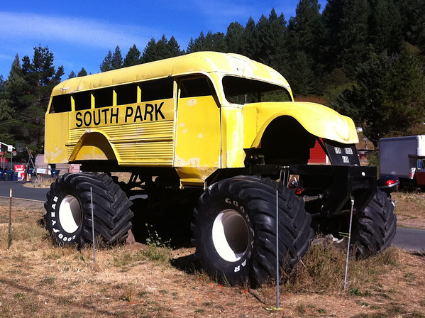 South Park Bus Leggett California