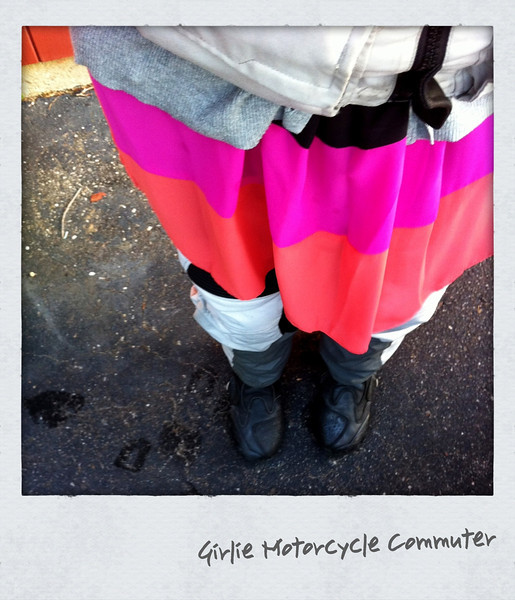 Girlie Motorcycle Commuter