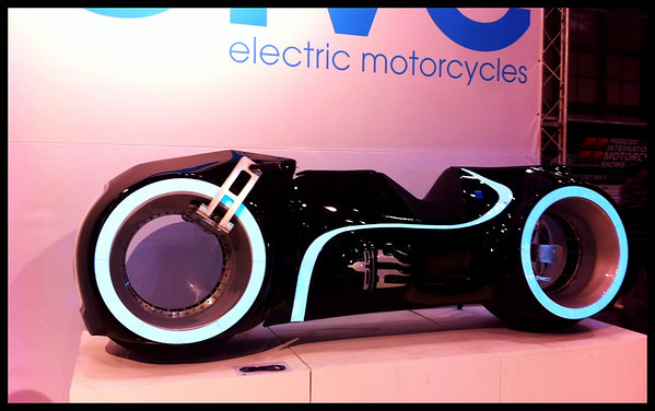Evolve TRON motorcycle