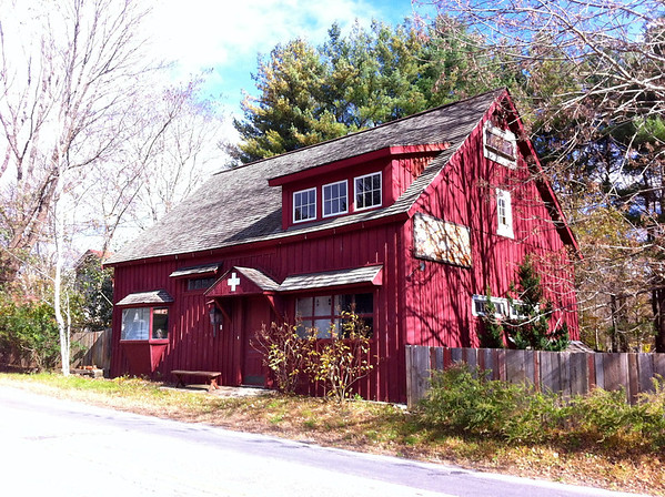 Red building in Westchester