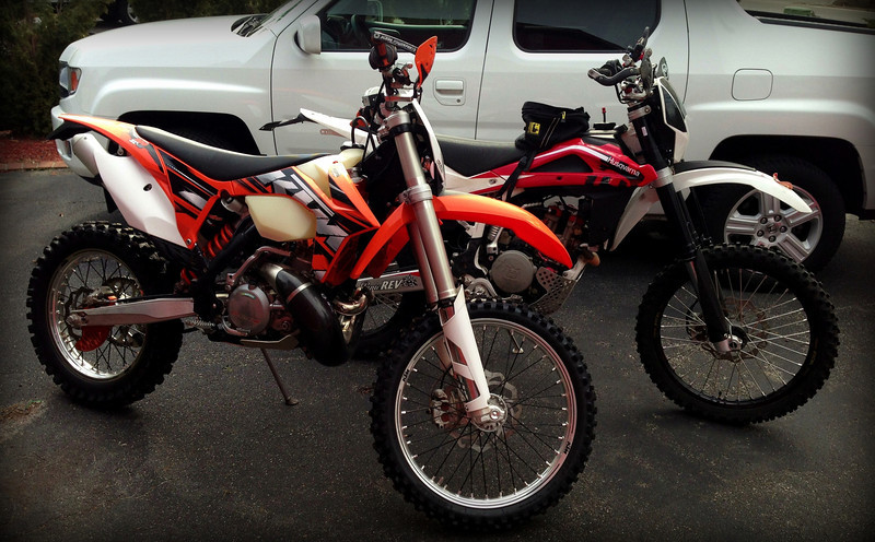 ktm and husky
