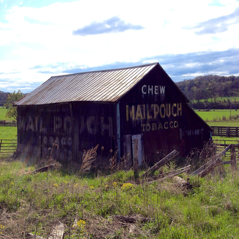 3 sided mail pouch barn near romney