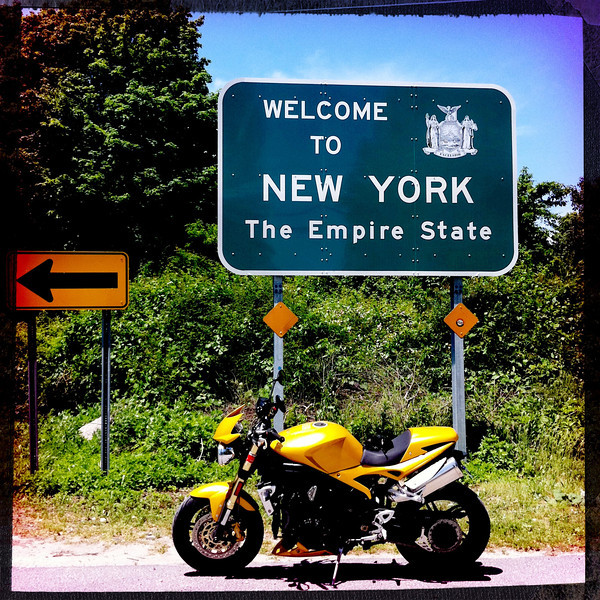 Welcome to New York Sign Orient