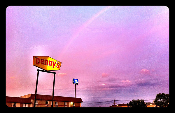 All Rainbows lead to Dennys