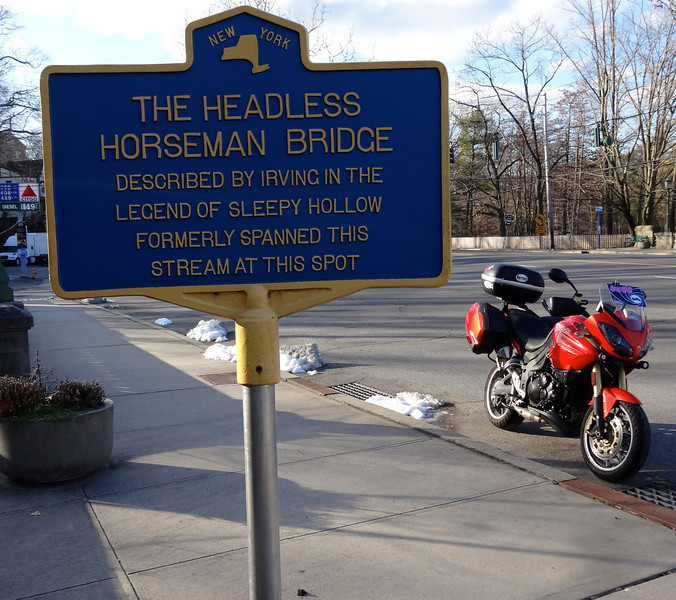 E2E Rally - Headless Horseman Bridge Historical Marker