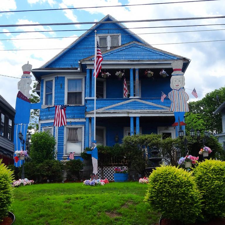 patriotic house in connecticut